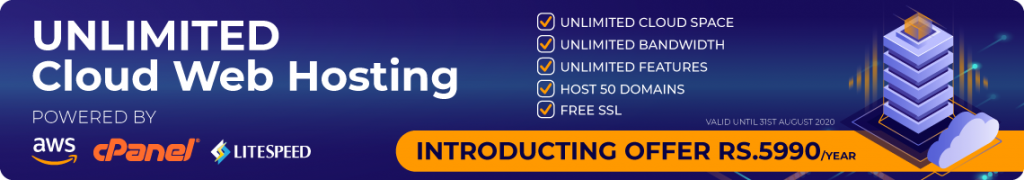 Cheap Unlimited Cloud Web Hosting Sri Lanka